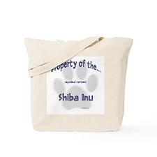 Shiba Inu Property Tote Bag