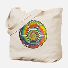 soccer-tiedye-T Tote Bag