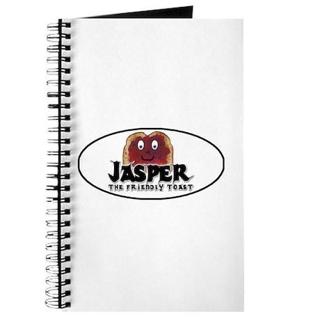 """Jasper The Friendly toast"" Journal"