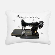 featherweight two Rectangular Canvas Pillow