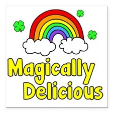 "Magically Square Car Magnet 3"" x 3"""