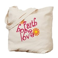 fhl_pink FLAT Tote Bag