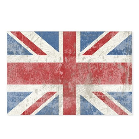 UnionJack2bbbbbbb14 Postcards (Package of 8)