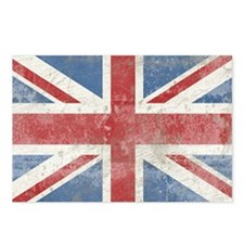 UnionJack2bbbbbbb17 Postcards (Package of 8)
