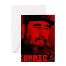 Castro Greeting Card