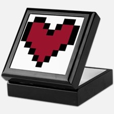 8 Bit Heart Keepsake Box