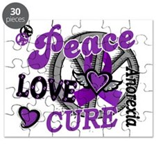 D Anorexia Peace Love Cure 2 Puzzle