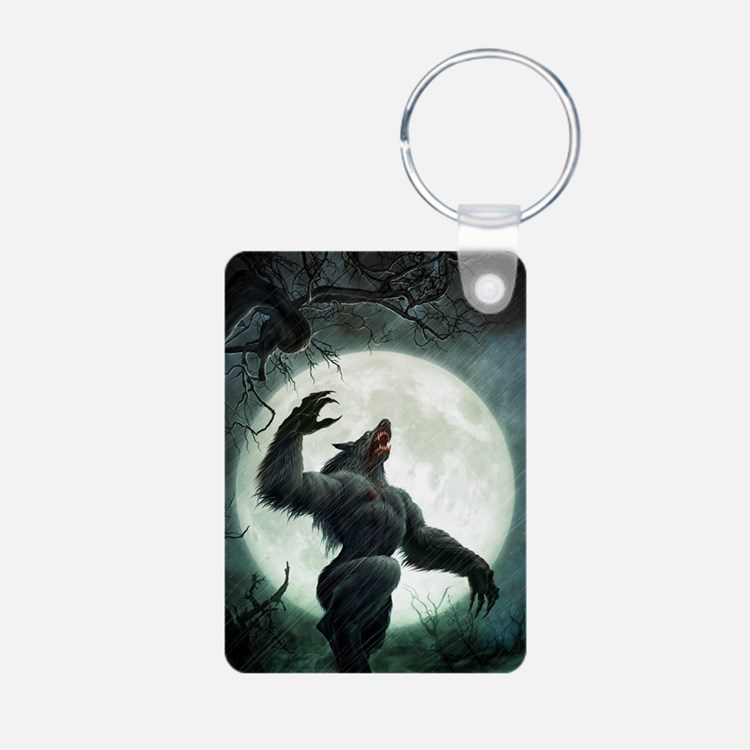 Howl-LargePoster Aluminum Photo Keychain