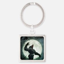 Howl-SmallPoster Square Keychain