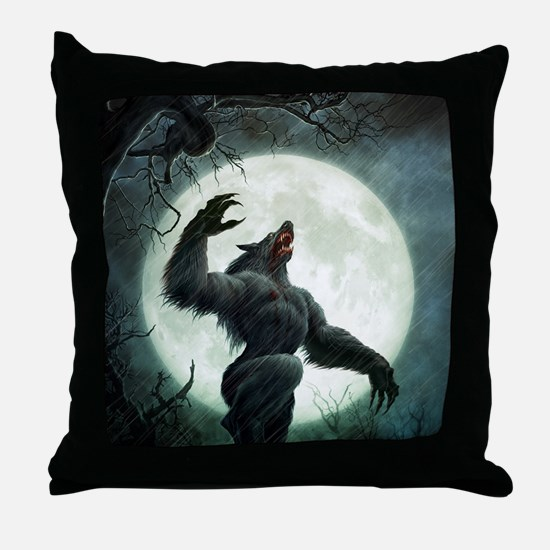 Howl-SmallPoster Throw Pillow