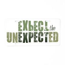 ExpectTheUnexpected_Moss Aluminum License Plate