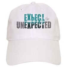 ExpectTheUnexpected_Teal Baseball Cap