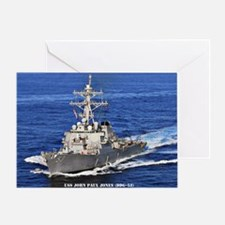 jpjones ddg53 large framed print Greeting Card