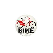 Bike_tee unisx) Mini Button