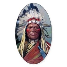 Sitting Bull, 1899, oil on canvas Decal
