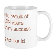 Evolution Success Small Mug