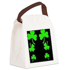 FF 3 Leaf A Canvas Lunch Bag
