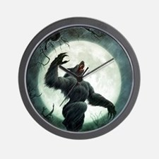 Howl-Tshirt Wall Clock