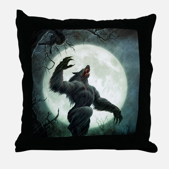 Howl-Tshirt Throw Pillow