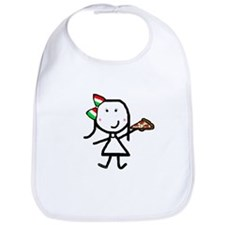 Girl & Pizza Bib