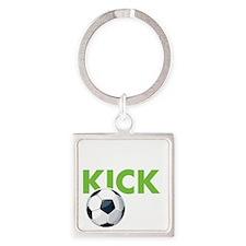 KickIt1D Square Keychain