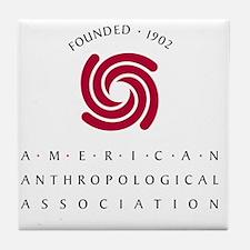 AAAlogo-2c-1902 Tile Coaster