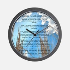 This Day Wall Clock