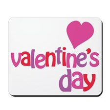 My 1st Valentines Day Mousepad
