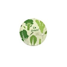 gogreenpattern Mini Button