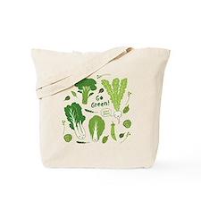 gogreenpattern2 Tote Bag