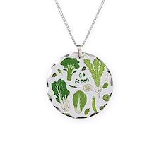 gogreenpattern2 Necklace