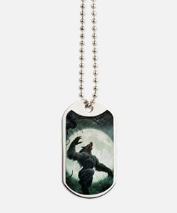 Howl-Postcard Dog Tags