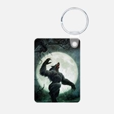 Howl-Postcard Aluminum Photo Keychain