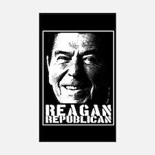 Reagan Republican Rectangle Decal