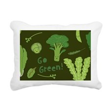 gogreencoin2 Rectangular Canvas Pillow