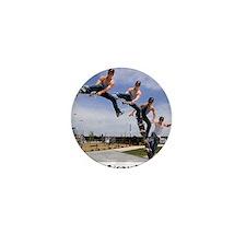 Skateboard-02 Mini Button