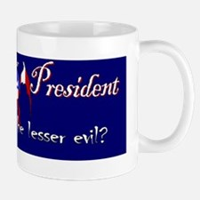 VoteCthulu_BumperSticker_withDude Mug