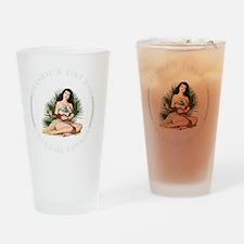 Frankies Tikki 2 blk Drinking Glass