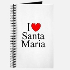 """I Love Santa Maria"" Journal"