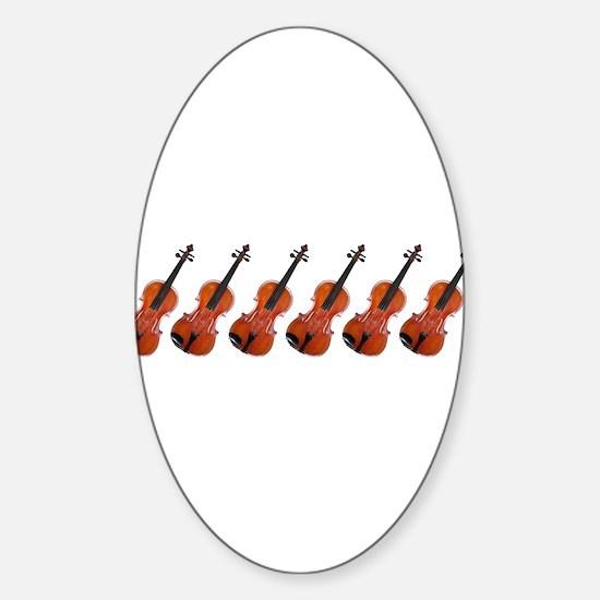 Viola Design 1 Oval Decal