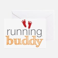 running buddy babyR Greeting Card