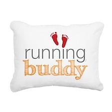 running buddy babyR Rectangular Canvas Pillow