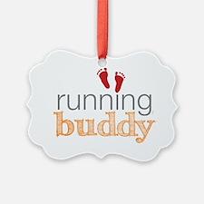running buddy babyR Ornament