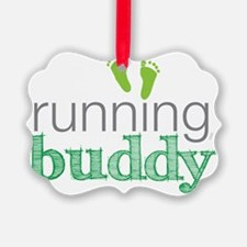 running buddy babyG Ornament