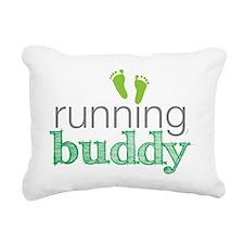running buddy babyG Rectangular Canvas Pillow