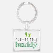 running buddy babyG Landscape Keychain