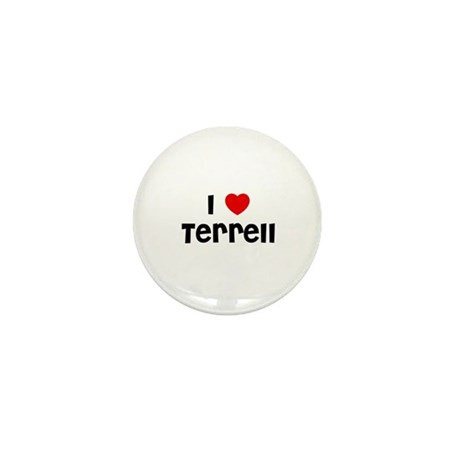 I * Terrell Mini Button (10 pack)