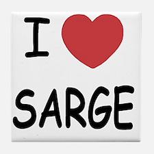 SARGE Tile Coaster