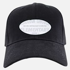 Abraham Lincoln Elementary White Baseball Hat