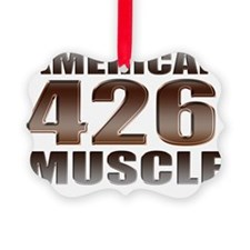 american muscle 426 Ornament